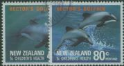 NZ SG1620-1 Hector's Dolphin health stamps set of 2